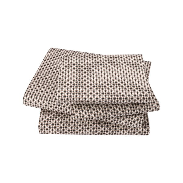Savile Ink Sheet Set By Dwellstudio.