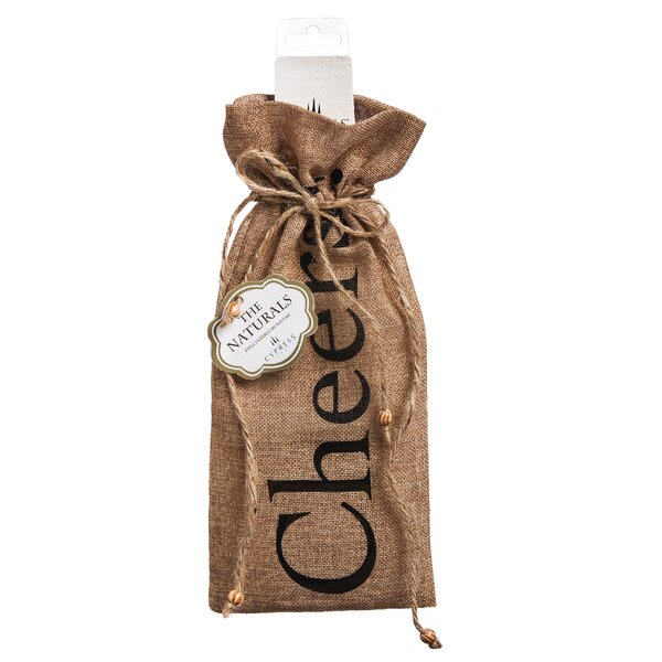 Cheers Wine Bag by Cypress Home