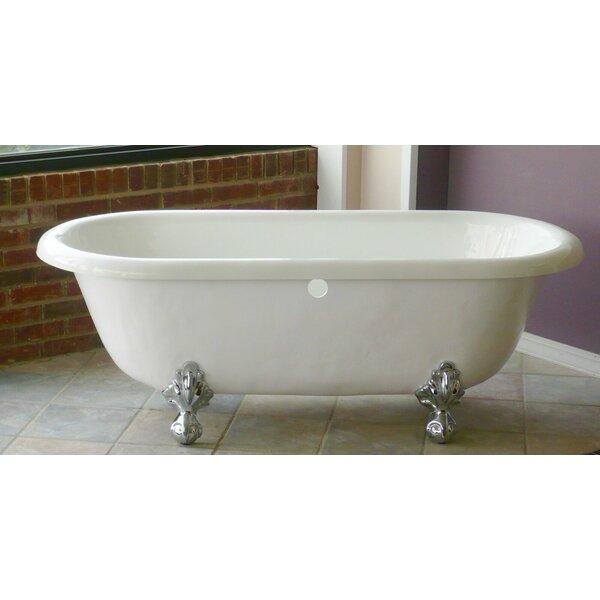 Marquise 66 x 30 Freestanding Soaking Bathtub by Restoria Bathtub Company