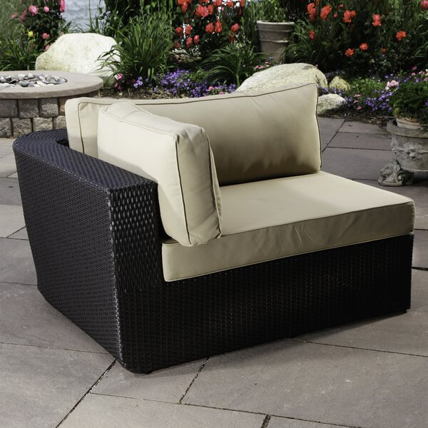 Malta Left Arm Chair with Cushions by Madbury Road
