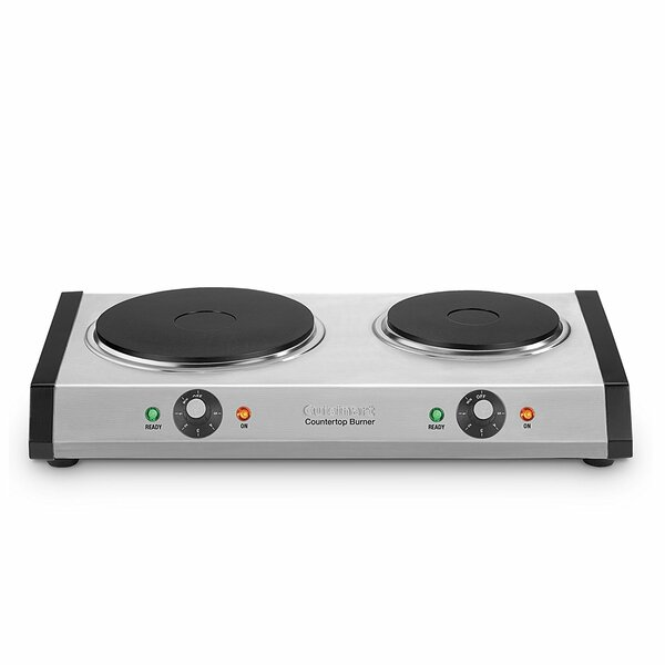 Countertop Electric Double Burner by CuisinartCountertop Electric Double Burner by Cuisinart