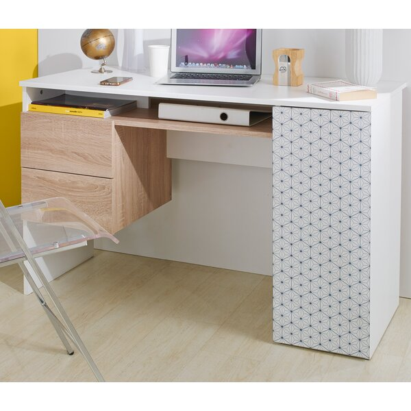 Devonshire Flake Computer Desk by Latitude Run