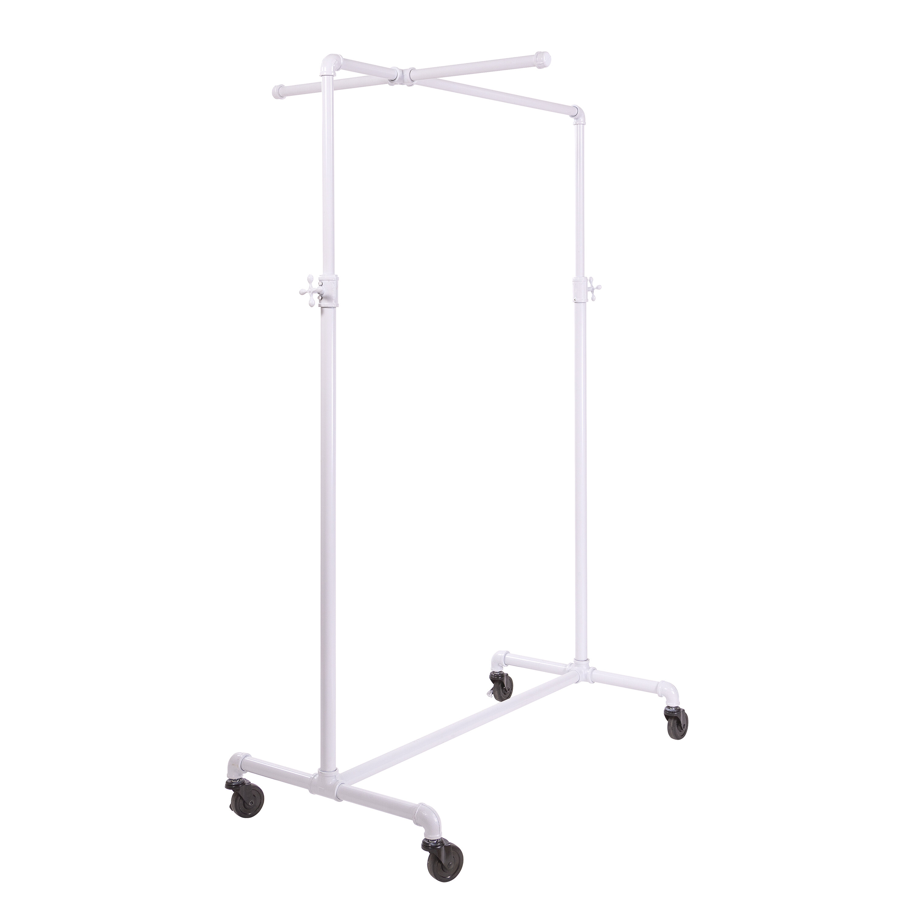 NEW PIPELINE COLLECTION CASTER SET FOR GARMENT RACK FREE SHIPPING