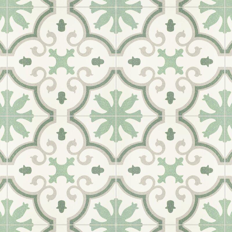 "Dulce 10"" x 10"" Porcelain Field Tile"