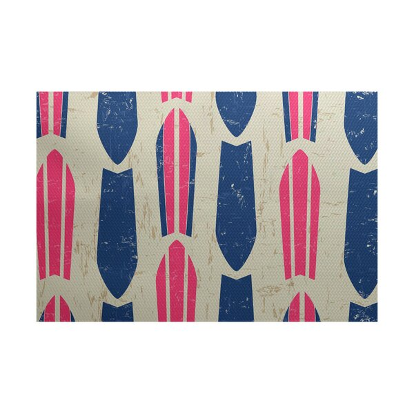 Pembrook Pink Indoor/Outdoor Area Rug by Bay Isle Home