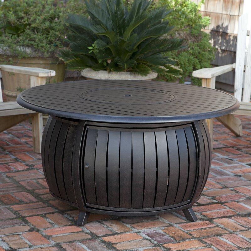 Elegant Extruded Aluminum Propane Fire Pit Table