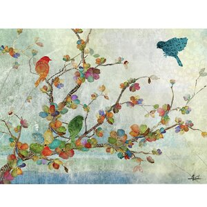 'Songs of the Wind' Painting Print on Wrapped Canvas by World Menagerie