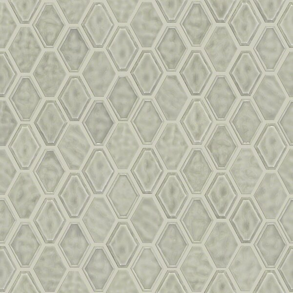 Victoria Diamond 0.5 x 0.5 Ceramic Mosaic Tile in Taupe by Shaw Floors