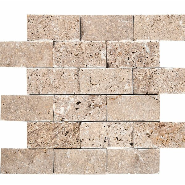 0.63 x 12 Stone Splitface Tile in Noce by Parvatile