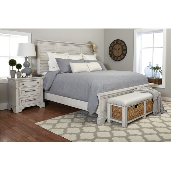Trisha Yearwood Home R and R Sleigh Platform Bed by Trisha Yearwood Home Collection