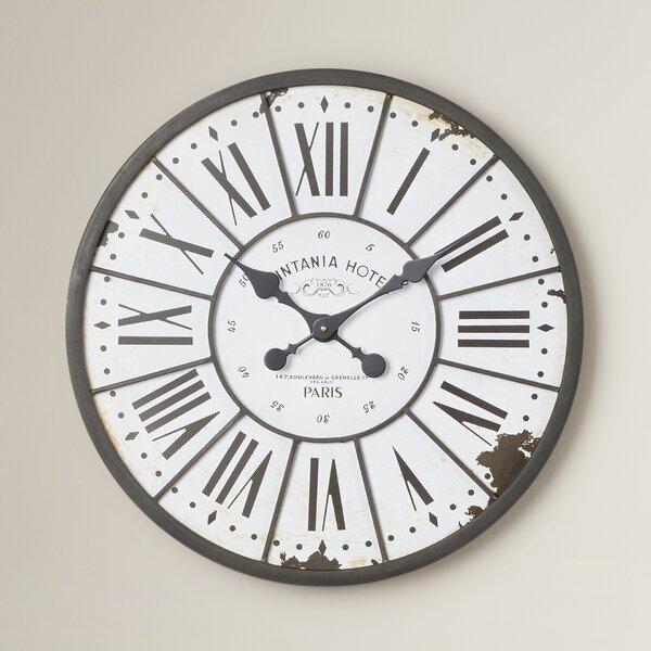 Hartshorn Oversized 24 Wall Clock by One Allium Way