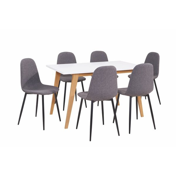 Mauricio 7 Pieces Dining Set by George Oliver
