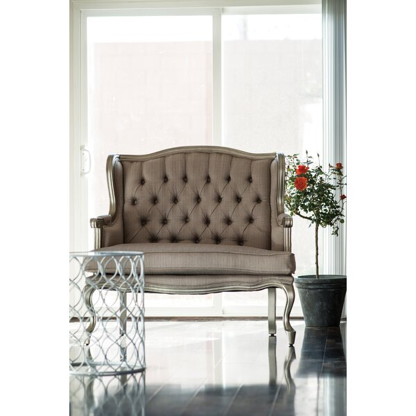 Great Selection Tufted Settee by A&B Home by A&B Home