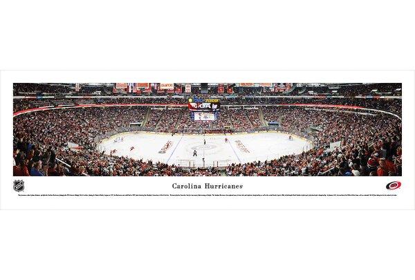 NHL Carolina Hurricanes by James Simmons Photographic Print by Blakeway Worldwide Panoramas, Inc