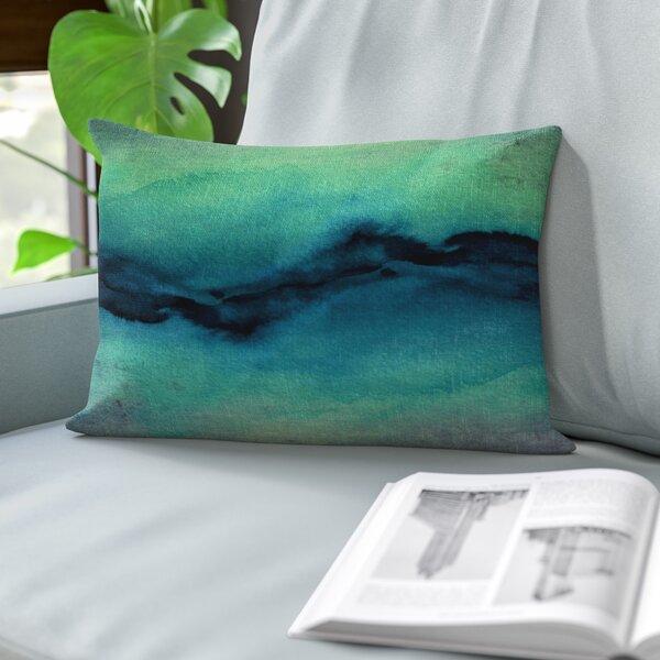 Rayna Golden Lumbar Pillow by Zipcode Design