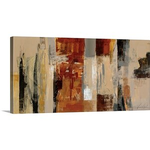 'Urban Morning' by Silvia Vassileva Painting Print on Canvas by Great Big Canvas