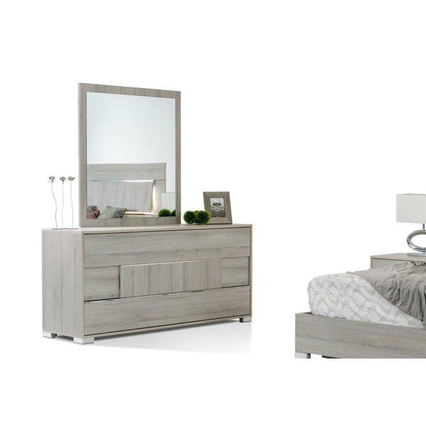 Febus Modern 3 Drawer Standard Dresser by Orren Ellis