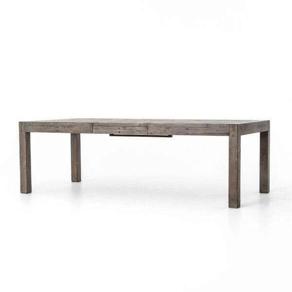 Glenna Extendable Solid Wood Dining Table by Gracie Oaks