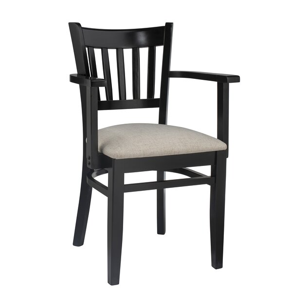 Somerton Vertical Solid Wood Dining Chair by Charlton Home