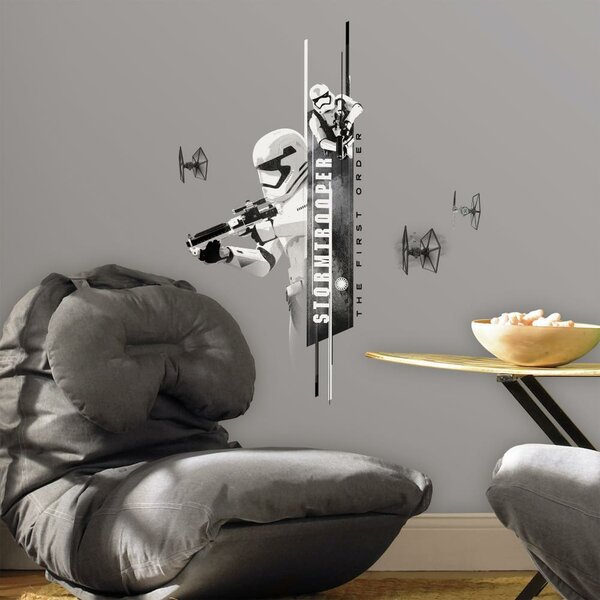 Star Wars Ep VII Stormtrooper P and S Wall Decal by Room Mates