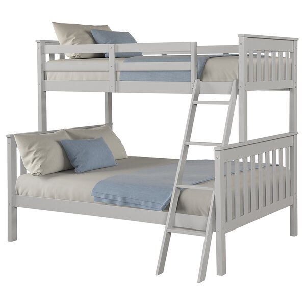 Hoquiam Twin over Full Bunk Bed by Harriet Bee
