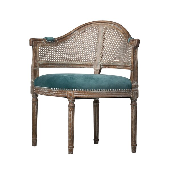Ledoux Barrel Chair by Bungalow Rose Bungalow Rose