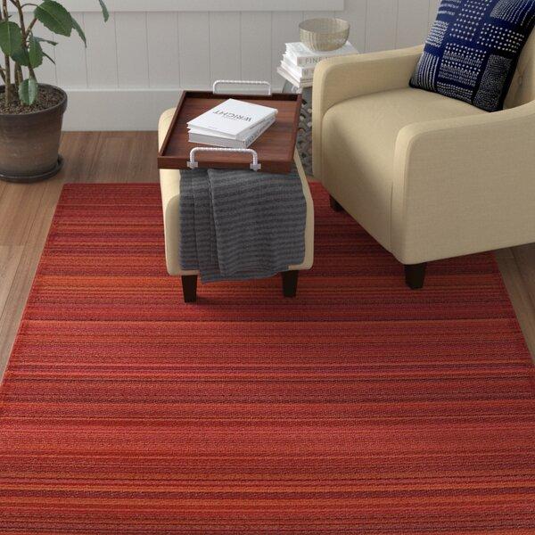 Caroline Red Indoor/Outdoor Area Rug by Winston Porter