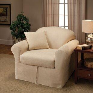 2 Piece Wing Chair Slipcover | Wayfair.ca