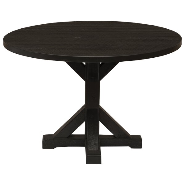 Frontier Pedestal Dining Table by Fireside Lodge