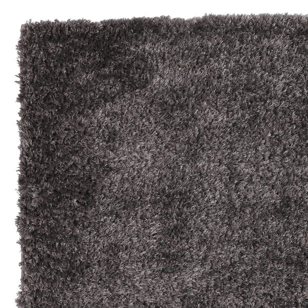 Ali Teddy Shag Taupe Area Rug by Wrought Studio