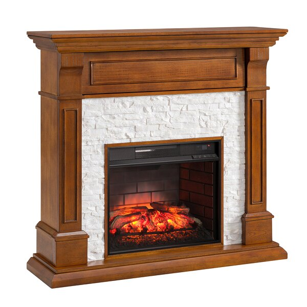 Bakker Electric Fireplace by Millwood Pines Millwood Pines