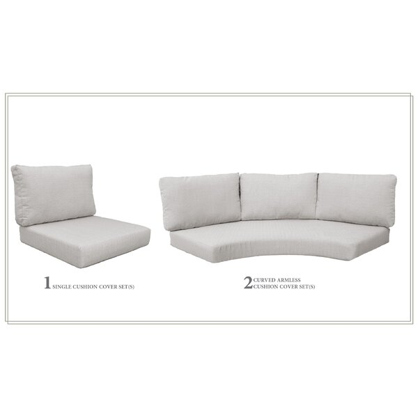 High Back 6 Piece Indoor/Outdoor Replacement Cushion Set by Highland Dunes Highland Dunes