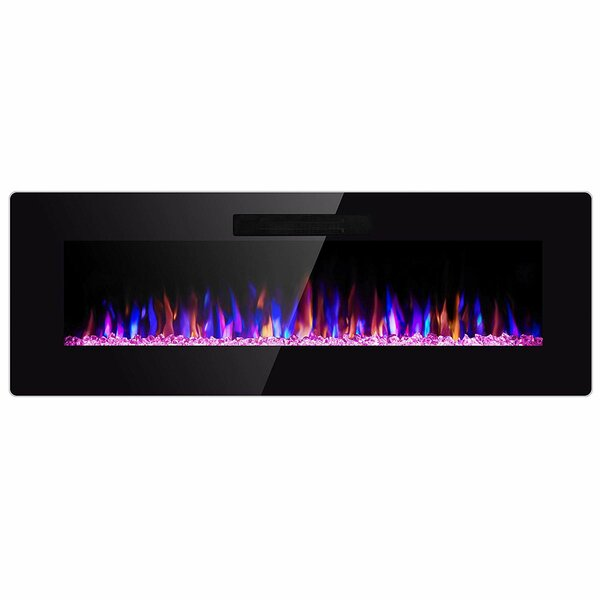 Crozet Recessed Electric Fireplace By Latitude Run