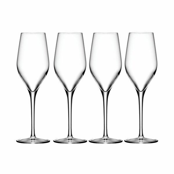 Grace 9 25 Oz Champagne Flute Set Of 4 By Oneida.