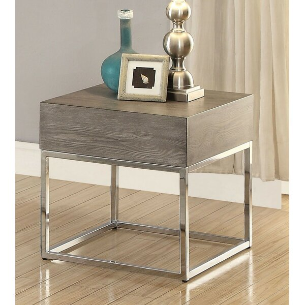 Royal End Table by Brayden Studio