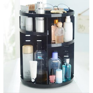 Rotating Storage Cosmetic Organizer