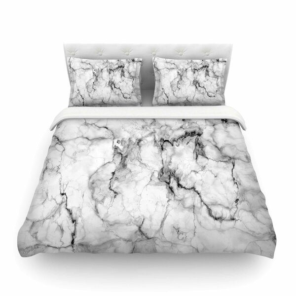 Marble No Modern by Chelsea Victoria Featherweight Duvet Cover by East Urban Home