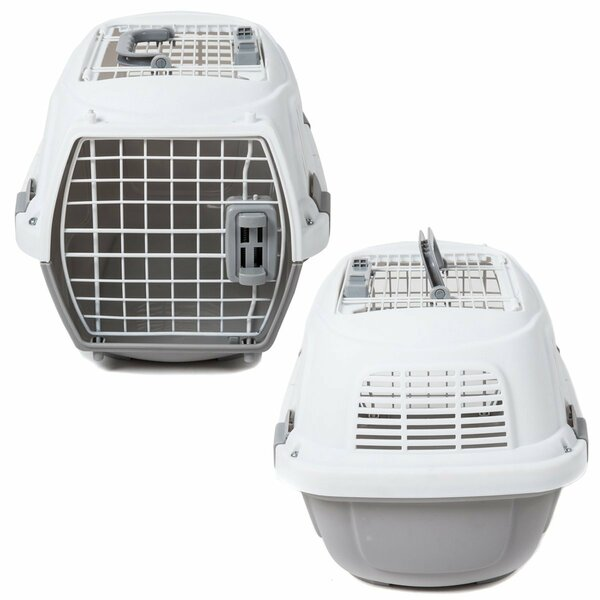 Portable 2 Door Top Load Pet Carrier by Favorite
