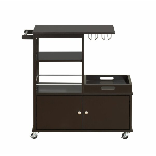 Moncrief Kitchen Cart by Winston Porter
