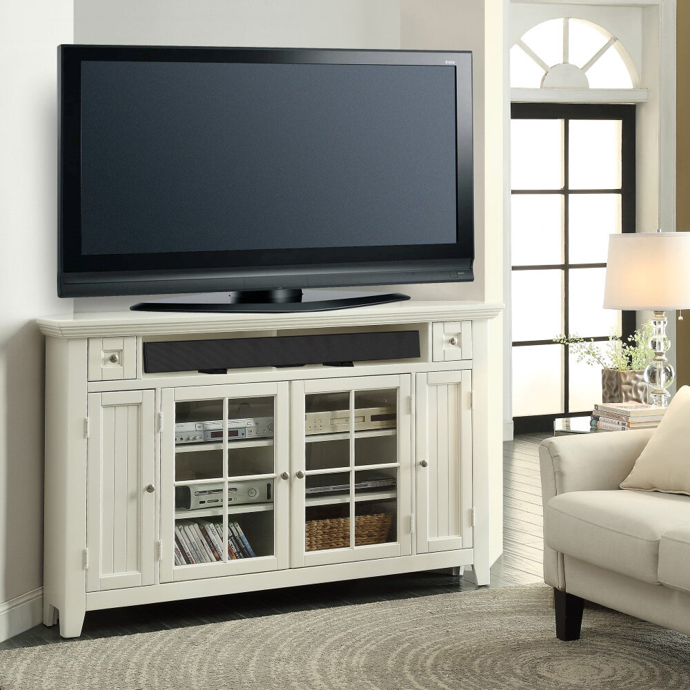 buy popular 76e4a eeb30 Benedetto Corner TV Stand for TVs up to 65