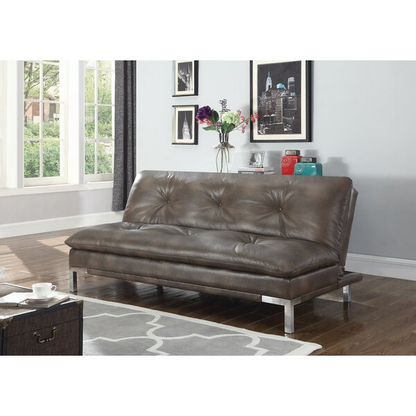 Rowland-Coman Polyurethane Convertible Sofa by Orren Ellis
