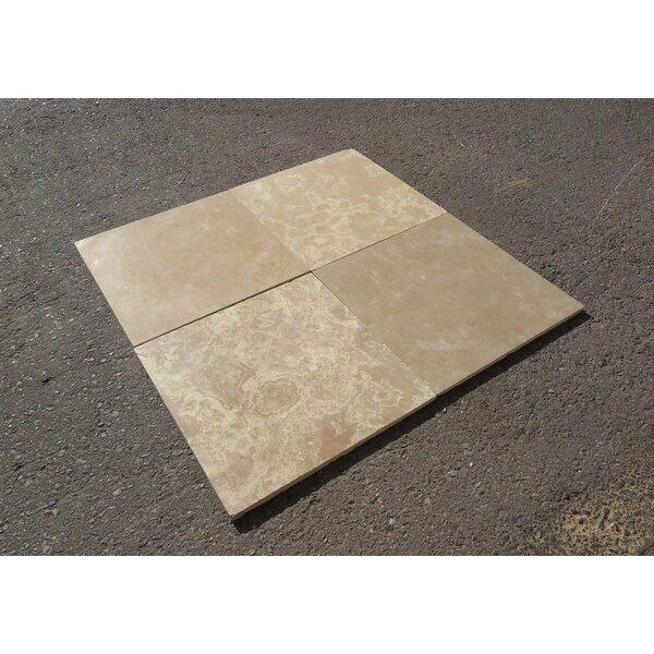 French Vanilla Honed 16x16 Limestone Field Field Tile