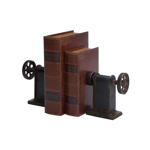 Lathe Book End (Set of 2) by Trent Austin Design