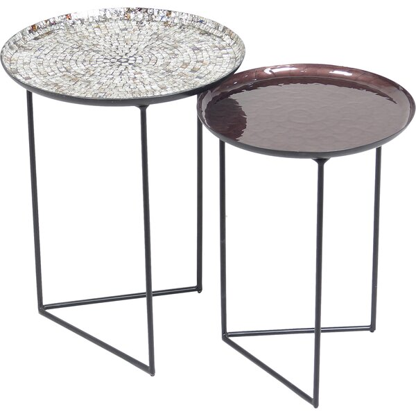 Joanie 2 Piece Nesting Tables By Bloomsbury Market