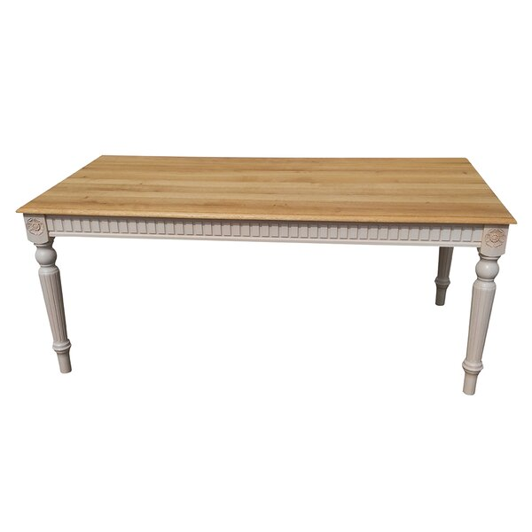 Felicien Solid Wood Dining Table by One Allium Way