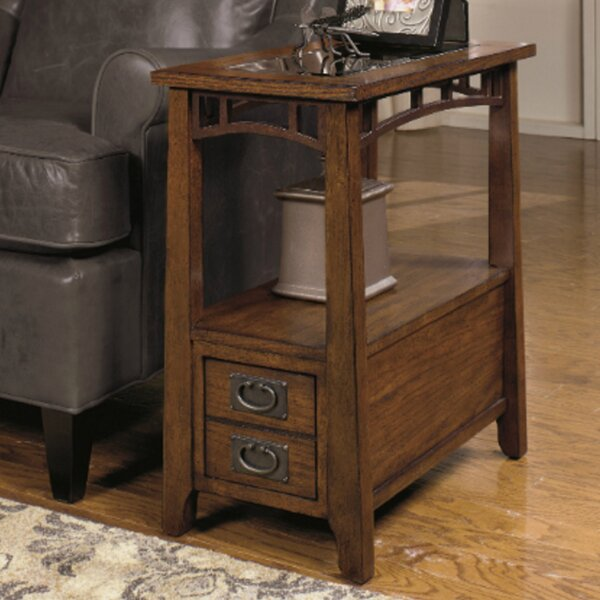 Landrienne End Table by Loon Peak