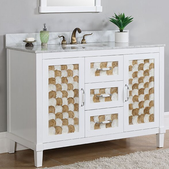 48 Single Sink Bathroom Vanity Set by InFurniture