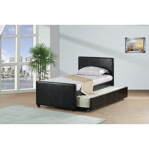 Twin Panel Bed with Trundle