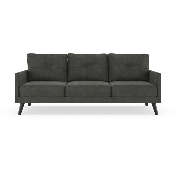 Home & Outdoor Wooding Micro Suede Sofa