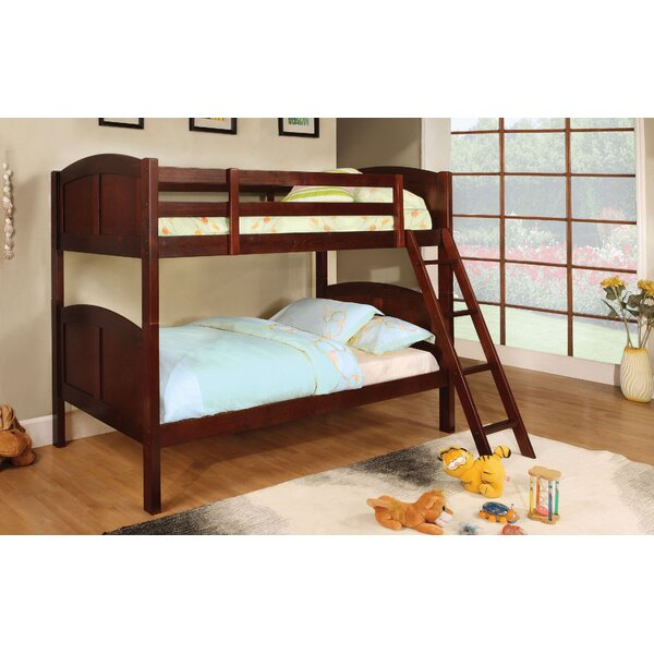 Rearick Twin over Twin Bunk Bed by Harriet Bee